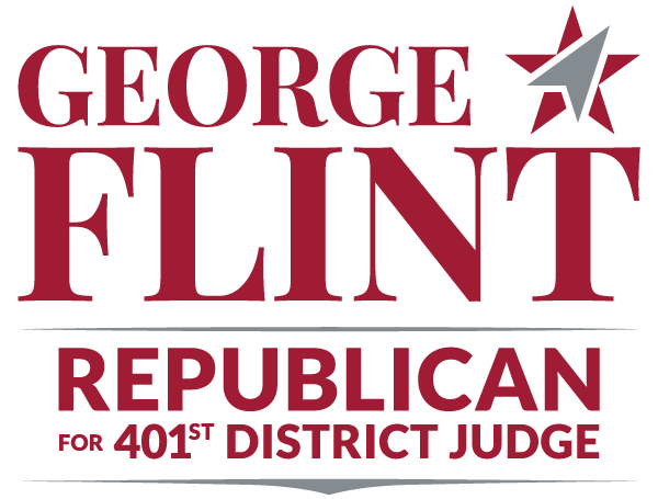 George Flint - Republican Candidate for 401st District Court Judge in Collin County